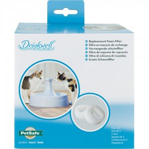Drinkwell® 360 Plastic Cat and Dog Water Fountain Replacement Foam Filters (2-Pack)