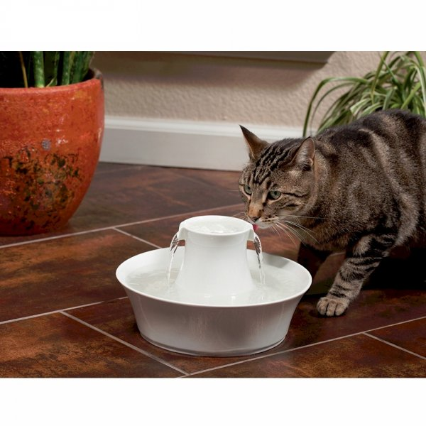 drinkwell ceramic avalon cat and dog water fountain. Black Bedroom Furniture Sets. Home Design Ideas