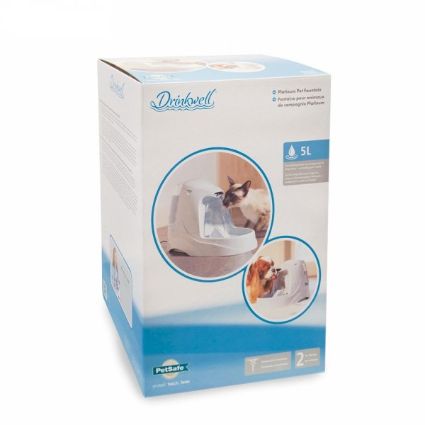 Drinkwell® Platinum Pet Cat and Dog Water Fountain